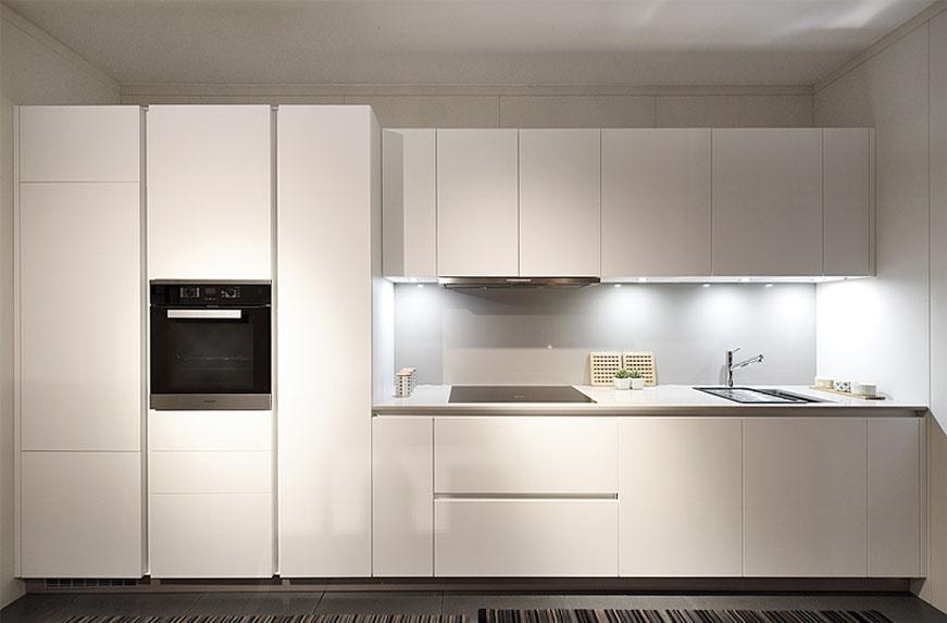 Ice Modular Kitchen